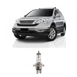 Bosch Sepasang Lampu Mobil Honda CR-V Low Beam All Weather Plus H4 12V 60/55W P43t (2 Pcs/Set) - 1987304030