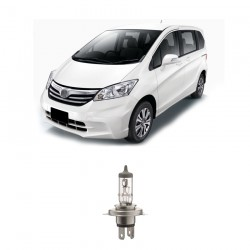 Bosch Sepasang Lampu Mobil Honda Freed Low Beam Sportec Bright H4 12V 60/55W P43t (Putih) (2 Pcs/Set) - 1987304057