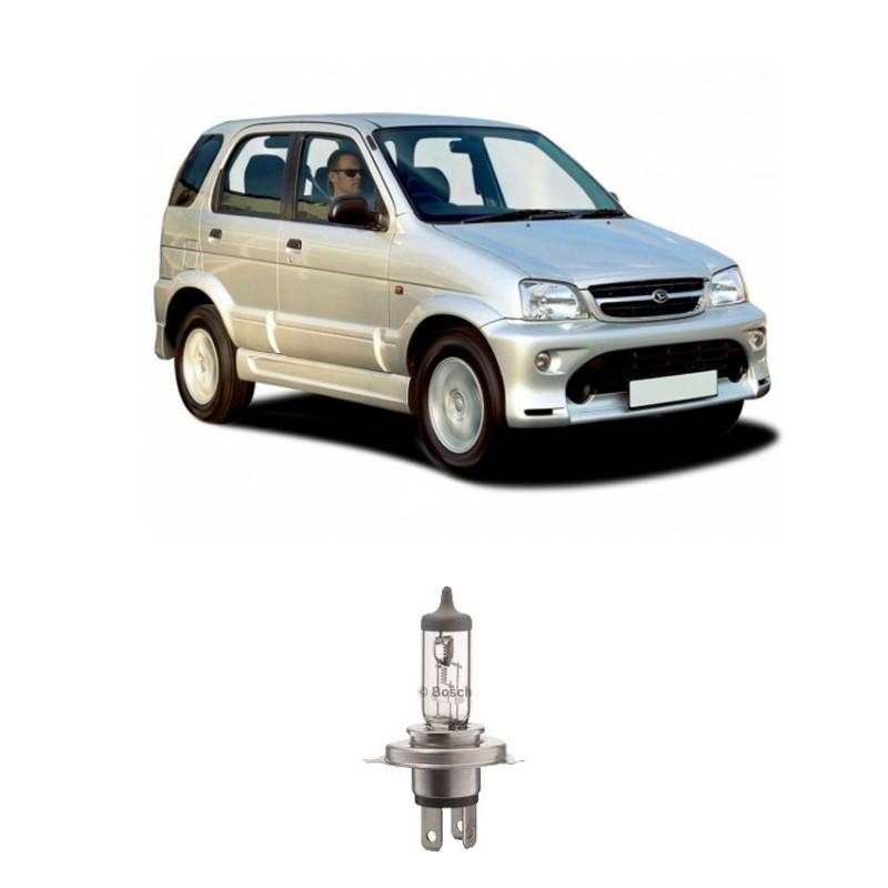 Bosch Lampu Mobil Sportec Bright H4 12V 60/55W P43t (Putih) (1