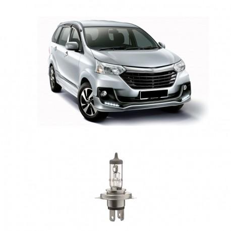 Bosch Lampu Mobil Sportec Bright H4 12V 60/55W P43t (Putih) (1 Pcs) - Jual Lampu Mobil yang Bagus dg Harga Murah