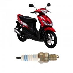 Bosch Busi Motor Matic Yamaha Mio UR4AC (1 Pcs) - Busi Motor Kuat & Tahan Lama dg Harga Murah