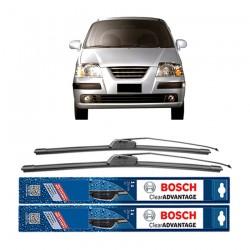 "Bosch Sepasang Wiper Frameless New Clear Advantage Mobil Hyundai Atoz Prime 20"" & 16"" - 2 Pcs/Set"