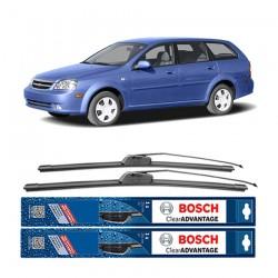 "Bosch Sepasang Wiper Frameless New Clear Advantage Mobil Chevrolet Optra Station Wagon 21"" & 19"" - 2Buah/Set"
