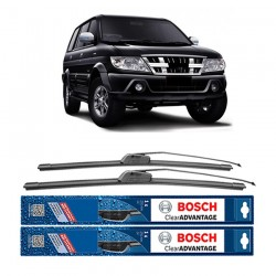 "Bosch Sepasang Wiper Depan Frameless New Clear Advantage Mobil Isuzu Panther (22"" & 16"" ) - 2 pcs/set"
