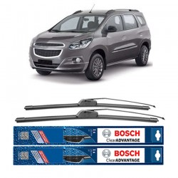 "Bosch Sepasang Wiper Frameless New Clear Advantage Mobil Chevrolet Spin 21"" & 18"" - 2Buah/Set"