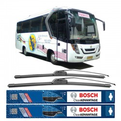 """Bosch Wiper Kaca Mobil Advantage 12"""" BA12 - 1 buah - Jual Wiper Mobil Merk Terbaik tidak Cepat Berdecit dg Harga Murah"""