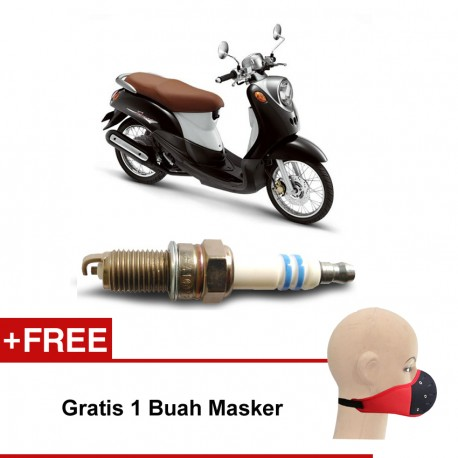 Bosch Busi Sepeda Motor Honda Supra U4AC - u/ Motor Merk yang Bagus dg Harga Murah
