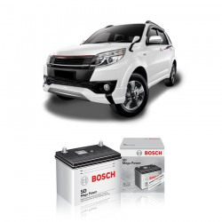 Jual Aki Basah Mobil Toyota Rush VVTi Bosch Harga Murah - Dry Charge (NS40 - 32B20R) 32 Ah, CCA 240