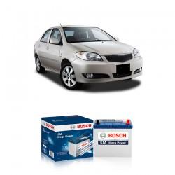 Jual Aki Kering Mobil Toyota Vios Bosch Harga Murah - Maintenance Free (Bebas Perawatan) (46B24LS-NS60LS std) 42 Ah CCA 400