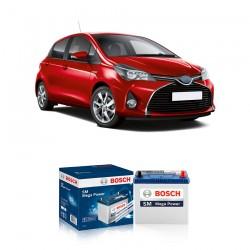 Jual Aki Kering Mobil Toyota Yaris Bosch Harga Murah - Maintenance Free (Bebas Perawatan) (46B24LS-NS60LS std) 42 Ah CCA 400