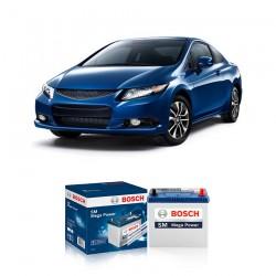 Jual Aki Kering Mobil Honda New Civic Bosch Harga Murah - Maintenance Free (Bebas Perawatan)(46B24RS-NS60S std) 42Ah CCA400