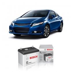 Jual Aki Basah Mobil Honda New Civic Bosch Harga Murah - Dry Charge (46B24RS-NS60S) 45 Ah, CCA 320