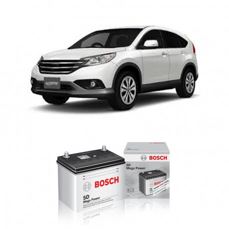 Jual Aki Basah Mobil Honda New CRV 2.0 Bosch Harga Murah - Dry Charge (46B24LS-NS60LS) 45 Ah, CCA 320