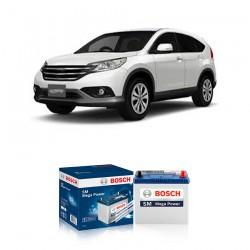 Jual Aki Kering Mobil Honda New CRV 2.4 Bosch Harga Murah - Maintenance Free (Bebas Perawatan)(46B24LS-NS60LSstd)42AhCCA400