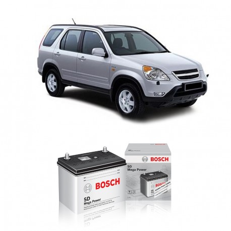 Jual Aki Basah Mobil Honda New CRV 2.4 Bosch Harga Murah - Dry Charge (46B24LS-NS60LS) 45 Ah, CCA 320