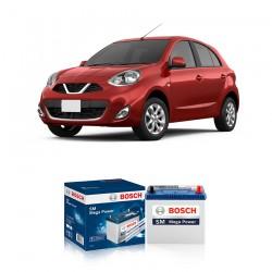 Jual Aki Kering Mobil Nissan March Bosch Harga Murah - Maintenance Free (Bebas Perawatan) (46B24L- NS60L) 42Ah CCA400