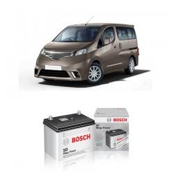 Jual Aki Basah Mobil Nissan March Bosch Harga Murah - Dry Charge (NS60L - 46B24L) 45 Ah, CCA 320