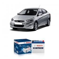 Jual Aki Kering Mobil Hyundai Accent Bosch Harga Murah - Maintenance Free (Bebas Perawatan)(46B24LS-NS60LSstd)42AhCCA400