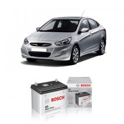 Jual Aki Basah Mobil Hyundai Accent Bosch Harga Murah - Dry Charge (46B24LS-NS60LS) 45 Ah, CCA 320