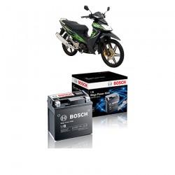 Jual Aki Kering u/ Motor Kawasaki ZX 130 (2008) Maintenance Free AGM RBTZ-5S Bosch - 0092M67041