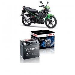 Jual Aki Kering u/ Motor Kawasaki New Athlete Maintenance Free AGM RBTZ-5S Bosch - 0092M67041