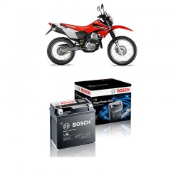 Jual Bosch Aki Kering Motor Honda XR 250 LR Maintenance Free AGM RBTZ-5S - 0092M67041