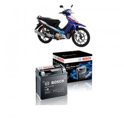 Jual Bosch Aki Motor Suzuki Shogun 125 Maintenance Free AGM RBTZ-5S - 0092M67041