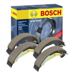 Bosch Brake Shoe Mobil Toyota Fortuner (Set, Kiri & Kanan) AB1500 - Harga Kampas Rem Belakang Mobil Merk dg Harga Murah