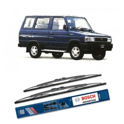 "Bosch Sepasang Wiper Kaca Mobil Toyota Hilux Tiger (2004-on) Advantage 21"" & 19"" - 2 Buah/Set"