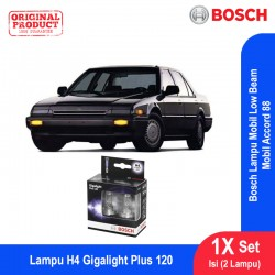 Bosch Lampu Mobil Accord 88 Low Beam Plus 120 H4 12V 60/55W P43t (2 Pcs/Set) - 1987301106