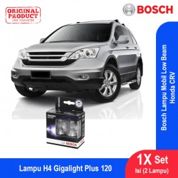Bosch Lampu Mobil Honda CR-V Low Beam Plus 120 H4 12V 60/55W P43t (2 Pcs/Set) - 1987301106