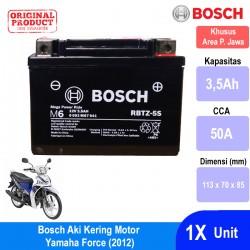 Jual Bosch Aki Kering Motor Yamaha Force (2012) Maintenance Free AGM RBTZ-5S - 0092M67041
