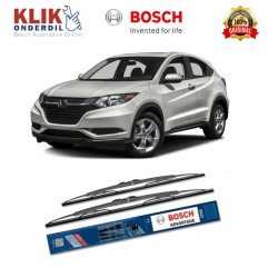 "Bosch Sepasang Wiper Kaca Mobil Honda HRV Advantage 26"" & 16"" - 2 Buah/Set - Harga Wiper Murah Merk Terbaik"