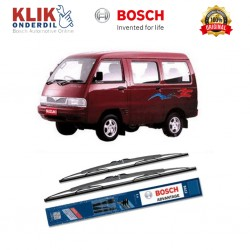"Bosch Sepasang Wiper Kaca Mobil Suzuki Carry Advantage 17"" & 17"" - 2 Buah/Set - Harga Wiper Murah Merk Terbaik"