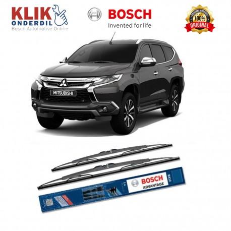"Bosch Sepasang Wiper Kaca Mobil Datsun Go+ Advantage 20"" & 16"" - 2 Buah/Set - Harga Wiper Murah Merk Terbaik"