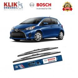 """Bosch Sepasang Wiper Kaca Mobil Mitsubishi Pajero Sport Advantage 20"""" & 20"""" - 2 Buah/Set - Harga Wiper Murah Merk Terbaik"""