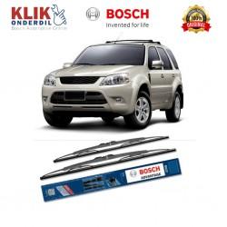 "Bosch Sepasang Wiper Kaca Mobil Ford Escape Advantage 20"" & 17"" - 2 Buah/Set - Harga Wiper Murah Merk Terbaik"