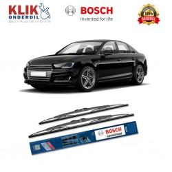 "Bosch Sepasang Wiper Kaca Mobil Audi A4 Advantage 21"" & 21"" - 2 Buah/Set - Harga Wiper Murah Merk Terbaik"