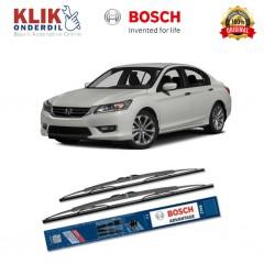 "Bosch Sepasang Wiper Kaca Mobil Honda Accord CP (2007-on) Advantage 26"" & 19"" - 2 Buah/Set - Harga Wiper Murah Merk Terbaik"
