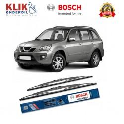 "Bosch Sepasang Wiper Kaca Mobil Tiggo Advantage 24"" & 19"" - 2 Buah/Set - Harga Wiper Murah Merk Terbaik"