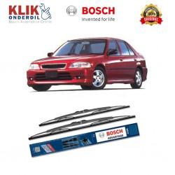 "Bosch Sepasang Wiper Kaca Mobil Honda City (1996-on) Advantage 19"" & 18"" - 2 Buah/Set - Harga Wiper Murah Merk Terbaik"