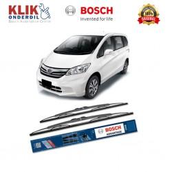 "Bosch Sepasang Wiper Kaca Mobil Honda Fit GD (2005-2007) Advantage 24"" & 14"" - 2 Buah/Set - Harga Wiper Murah Merk Terbaik"