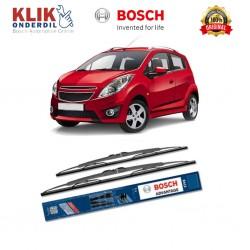 """Bosch Sepasang Wiper Kaca Mobil Chevrolet Spark Advantage 21"""" & 16"""" - 2 Buah/Set - Harga Wiper Murah Merk Terbaik"""