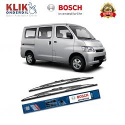 "Bosch Sepasang Wiper Kaca Mobil Daihatsu Grand Max Advantage 19"" & 19"" - 2 Buah/Set - Harga Wiper Murah Merk Terbaik"