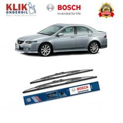 "Bosch Sepasang Wiper Kaca Mobil Honda Accord (2001-on) Advantage 22"" & 20"" - 2 Buah/Set - Harga Wiper Murah Merk Terbaik"