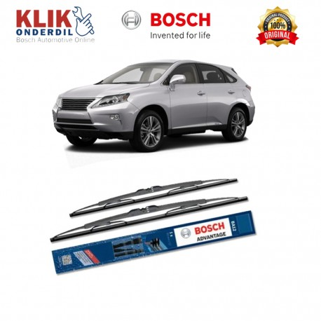 "Bosch Sepasang Wiper Kaca Mobil Lexus LS F4 (2006-on) Advantage 24"" & 16"" - 2 Buah/Set"