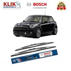 """Bosch Sepasang Wiper Kaca Mobil Mercedez Benz M-Klasse 163 (1999-2005) Advantage 22"""" & 21"""" - 2 Buah/Set"""