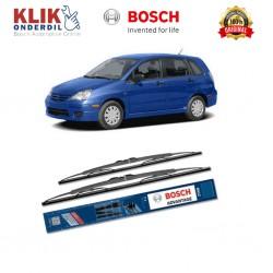 "Bosch Sepasang Wiper Kaca Mobil Subaru Legacy (2003-2006) Advantage 24"" & 18"" - 2 Buah/Set"