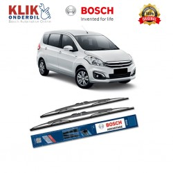 "Bosch Sepasang Wiper Kaca Mobil Suzuki Ertiga Advantage 21"" & 14"" - 2 Buah/Set"