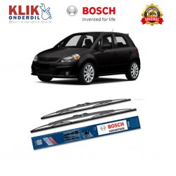 "Bosch Sepasang Wiper Kaca Mobil Suzuki Hatchback (2004-on) Advantage 21"" & 18"" - 2 Buah/Set"